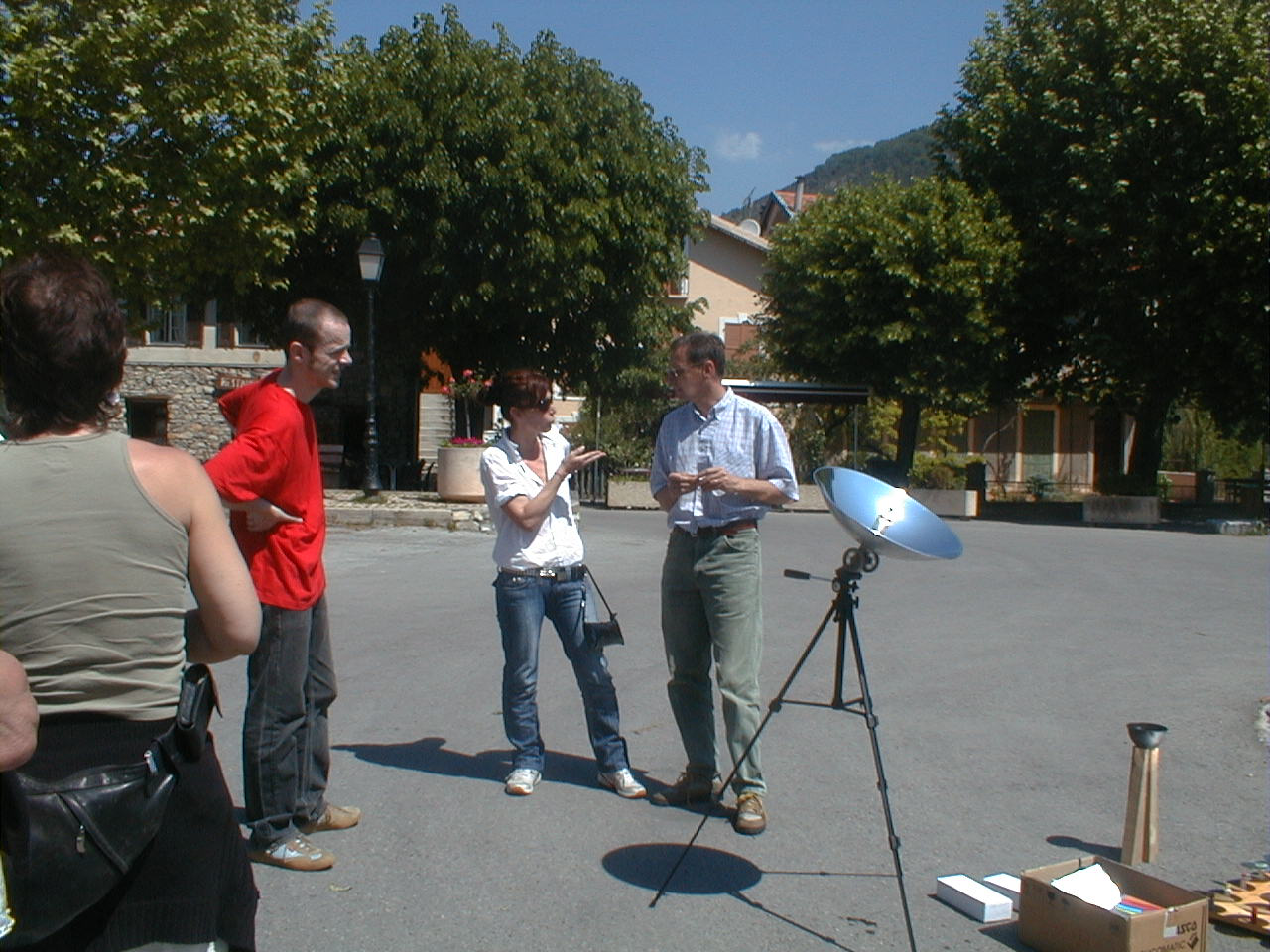 Rencontre avec un scientifique E Bak, P Tiraboschi, Luc Kerléo, Guy Mausy