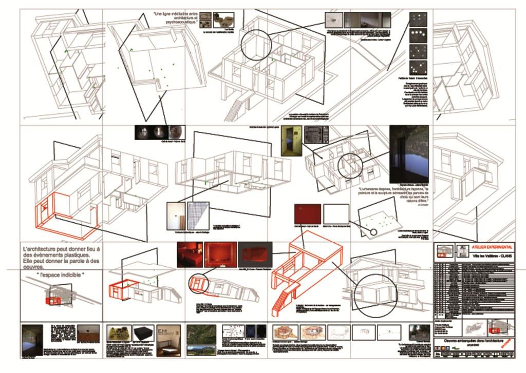 Les Vallières 3ème partie : Les œuvres d'art embarquées dans l'architecture