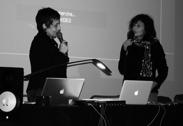 Eléonore Bak et Isabelle Sordage - séminaire