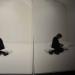 plaque noire et reflet - Espace Rossetti